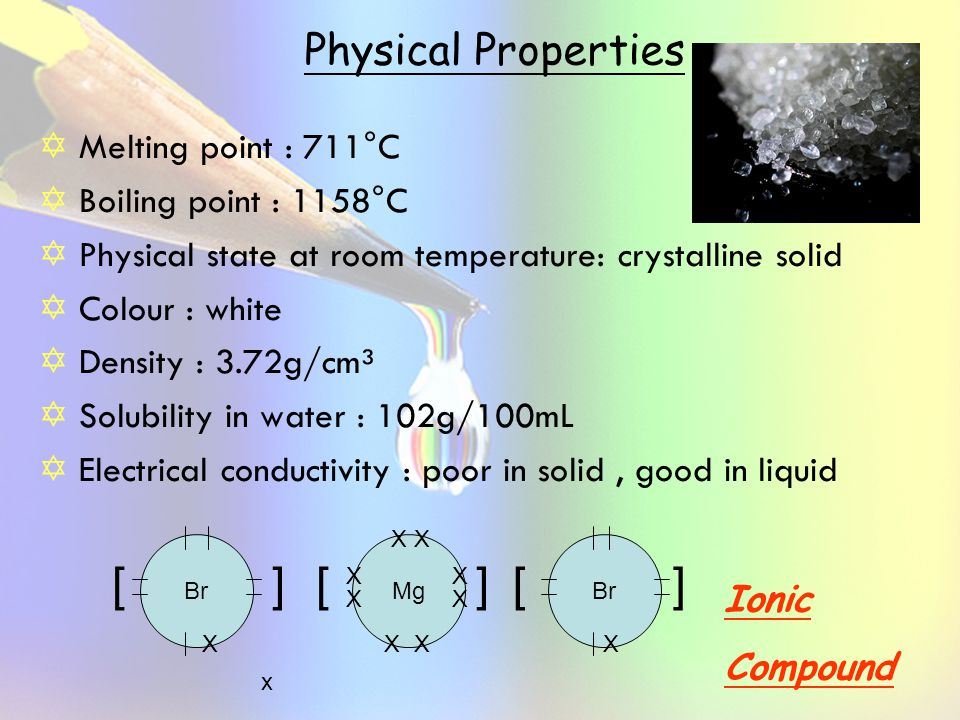 room temperature magnesium Magnesium reacts with water at room temperature, though it reacts much more slowly than calcium, a similar group 2 metal when submerged in water, hydrogen bubbles form slowly on the surface of the metal—though, if powdered, it reacts much more rapidly.